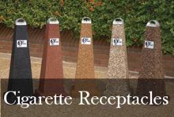 Commercial Cigarette Receptacles