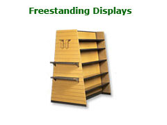 Freestanding Display Shelving Brochure