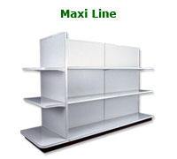 Maxi Line Display Shelving Brochure