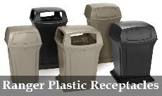 Ranger Trash Receptacles by Rubbermaid Commercial Products