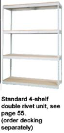 Double Rivet Shelving