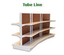 Tube Line Shelving Brochure